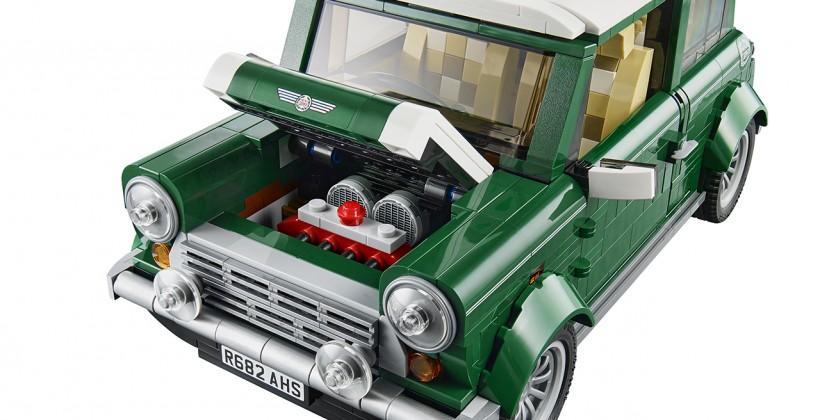 LEGO MINI Cooper release summons the classic Mk VII