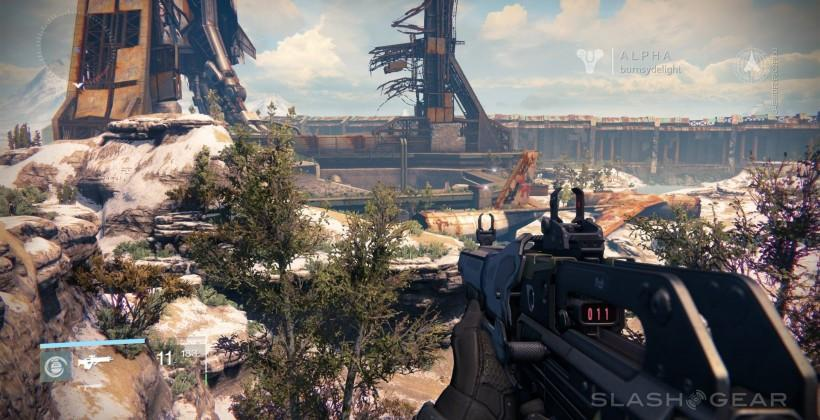Destiny Alpha gameplay first impressions: it's just beautiful