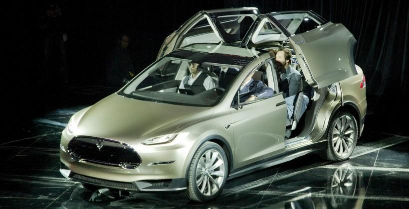 Tesla Model X SUV coming early 2015 with AWD upgrade