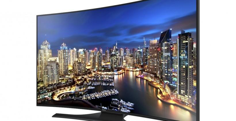 Samsung Ultra HD TV range expands with curved sets & more