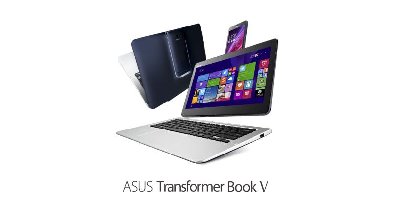 ASUS Transformer Book V and T300 Chi redefine hybrid line