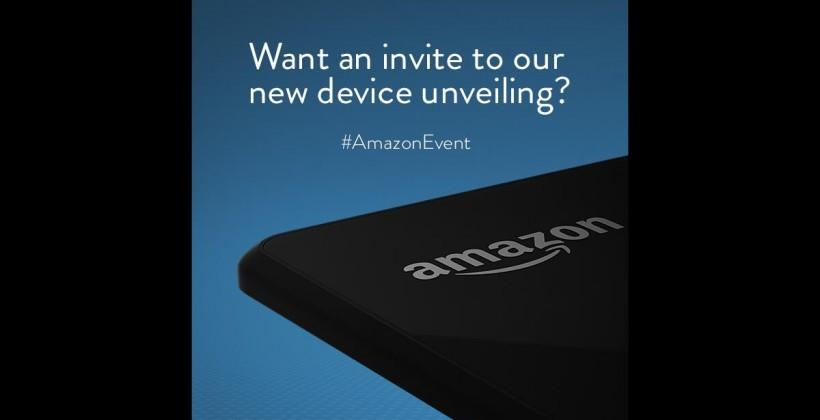 Amazon event announced for June 18, likely their rumored phone
