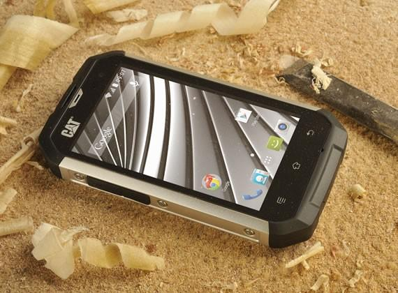 CAT B15Q smartphone combines KitKat and ruggedness