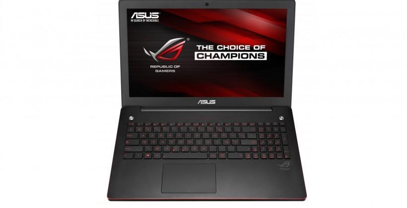 ASUS Republic of Gamers G550JK laptop: Full HD, Core i7