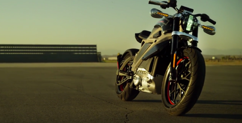 Harley-Davidson Project LiveWire electric motorcycle revealed