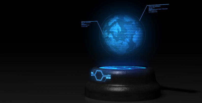 Mini smartphone projector hints at holographic future - SlashGear