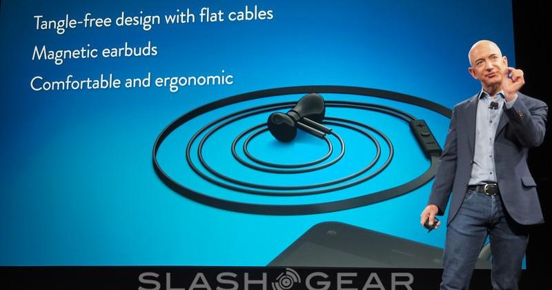 Magnetic earbuds go tangle-free with Amazon Fire Phone
