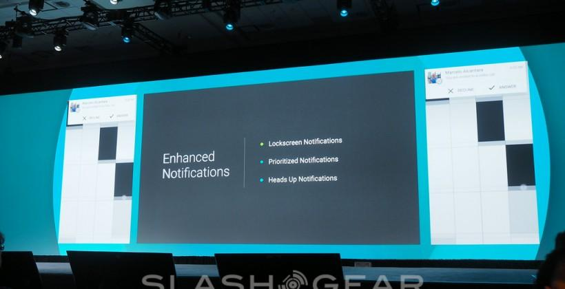 Enhanced Notifications and hit lockscreen in Android with wearables integration
