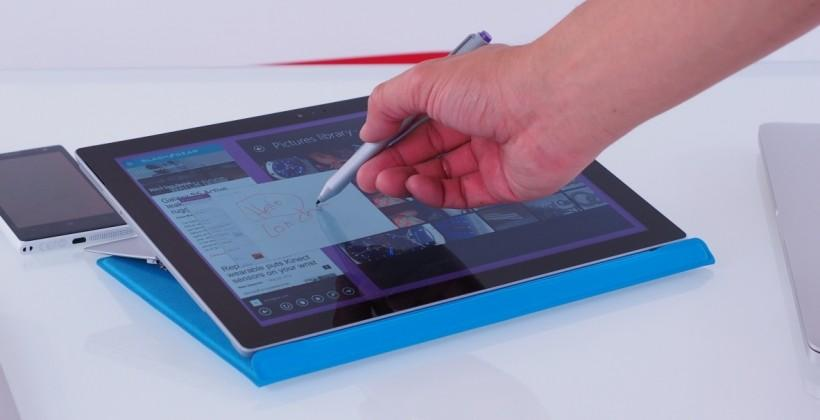 Surface Pro 3 update fixes power problem just in time