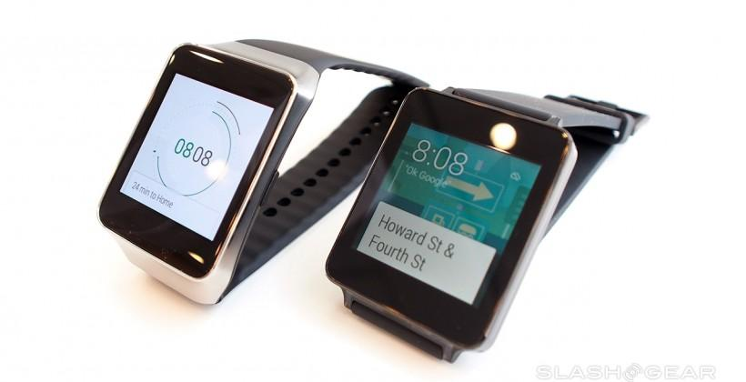 LG G Watch vs Samsung Gear Live: hands-on up close and personal