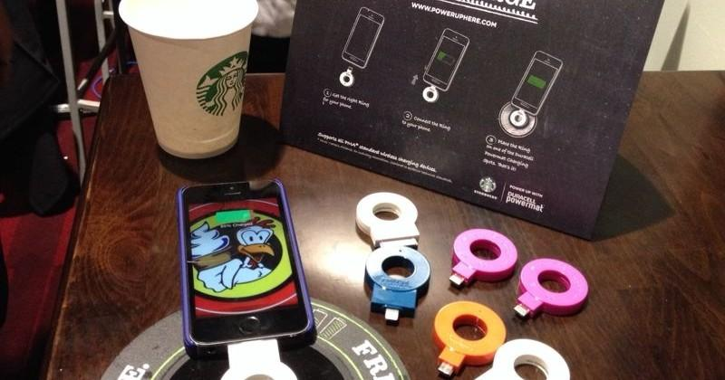 How to charge your iPhone wirelessly at Starbucks