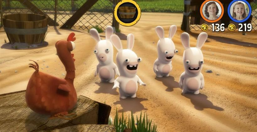 Rabbids Kinect interactive TV show summoned by Ubisoft