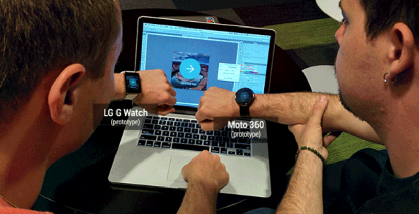 Moto 360, LG G Watch shown off in Android Wear post