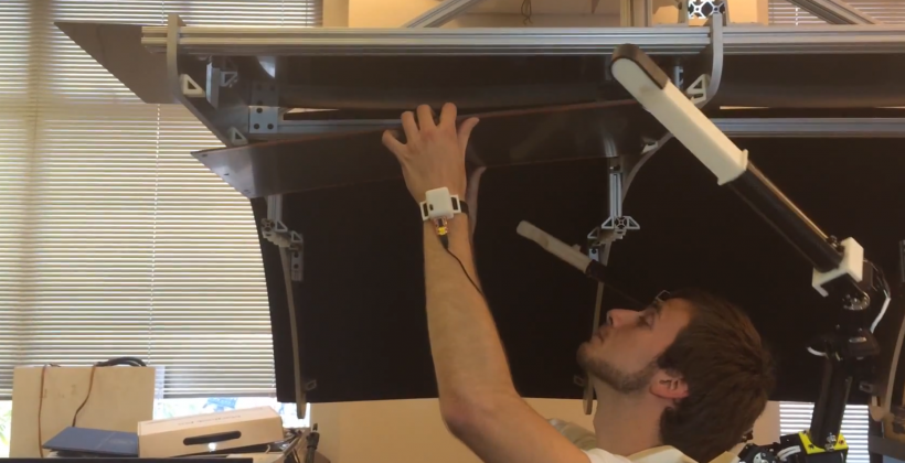 MIT researchers use robotic arms to assist with heavy lifting