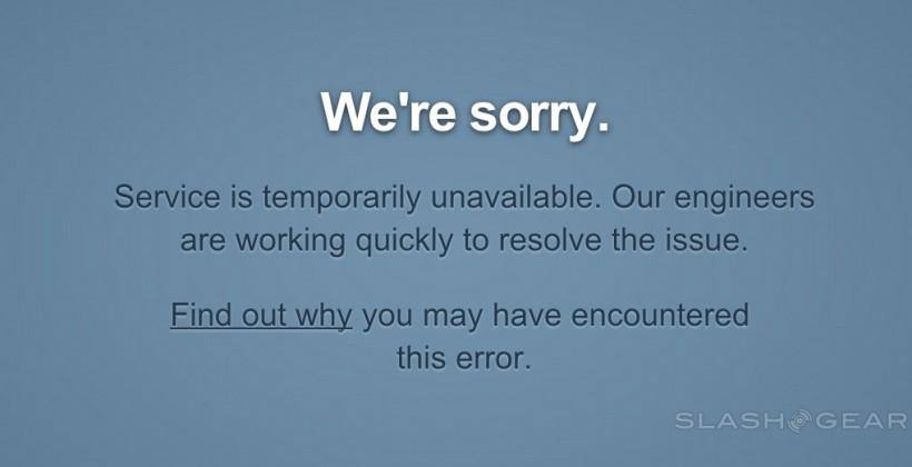 Tumblr is down, it's not just you [Update: it's back!]