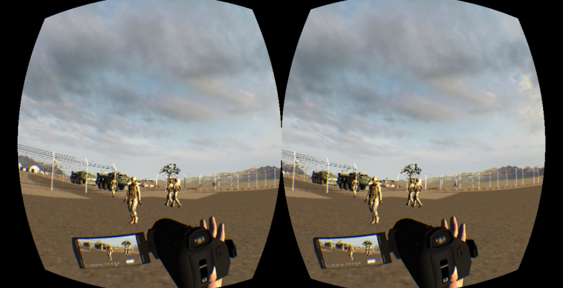 Stringer uses Virtual Reality with Oculus for battlefield safety