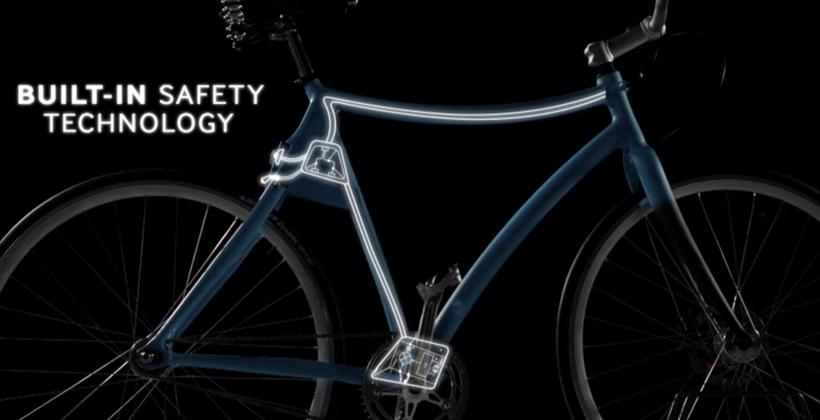 Samsung's Smart Bike concept is beautiful
