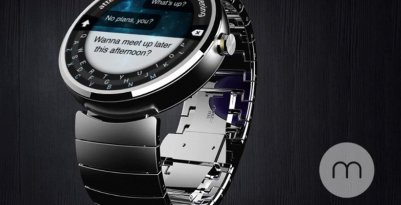 Minuum bends its way onto the Moto 360