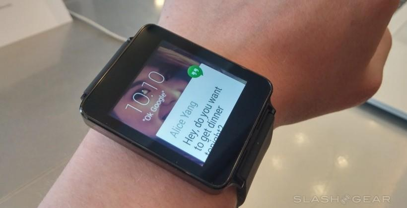 Samsung Gear Live and LG G Watch priced and put on pre-order