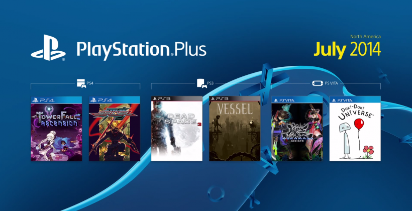 PlayStation Plus free games rundown hits July