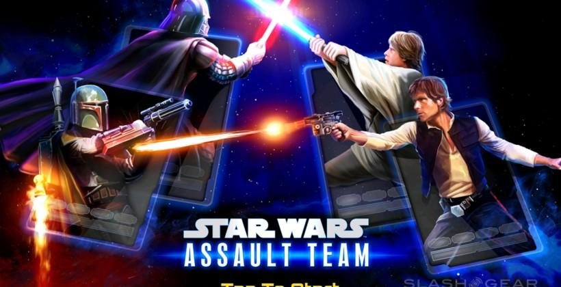 Star Wars Assault Team free mobile game taps sci-fi obsession