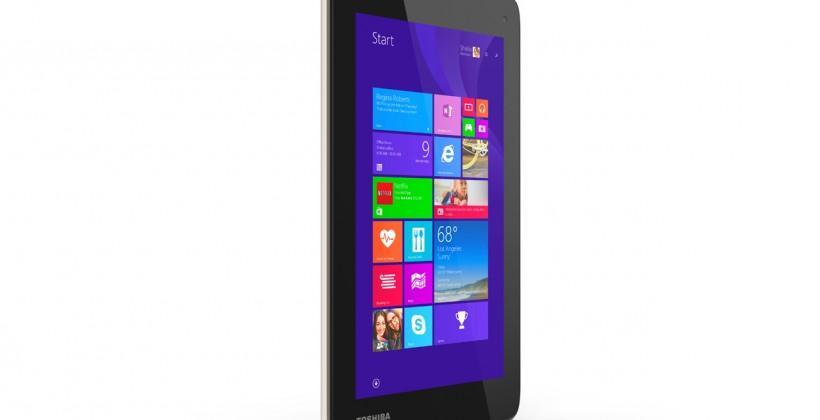 Toshiba Encore 7 Windows 8.1 tab takes on Android low-end