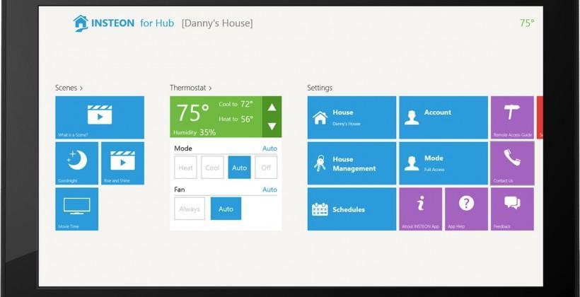 Insteon app hits Windows 8.1 and Windows Phone 8.1