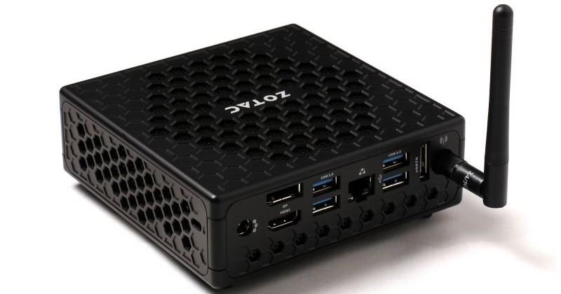 Zotac C-series nano PC lineup arrives
