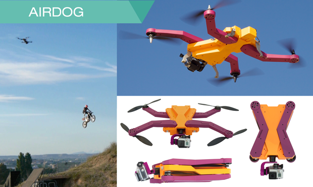 AirDog follows you around to record your action moments