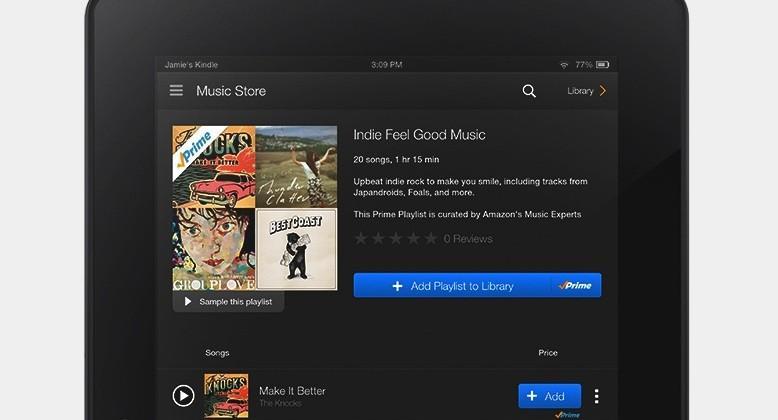 Amazon details Prime Music