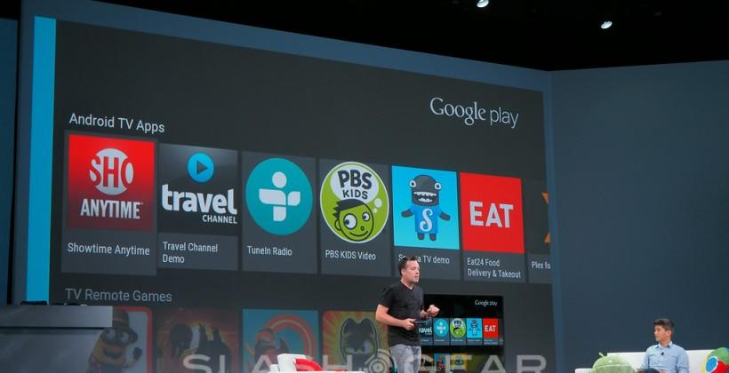 Android TV: Google aims for living room (again)