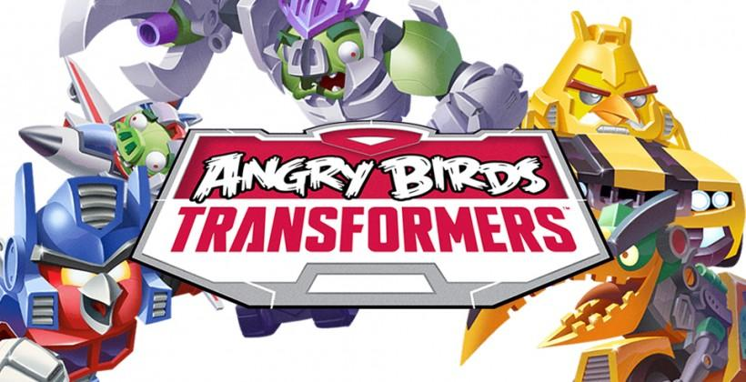 Angry Birds Transformers release Autobirds and Deceptihogs