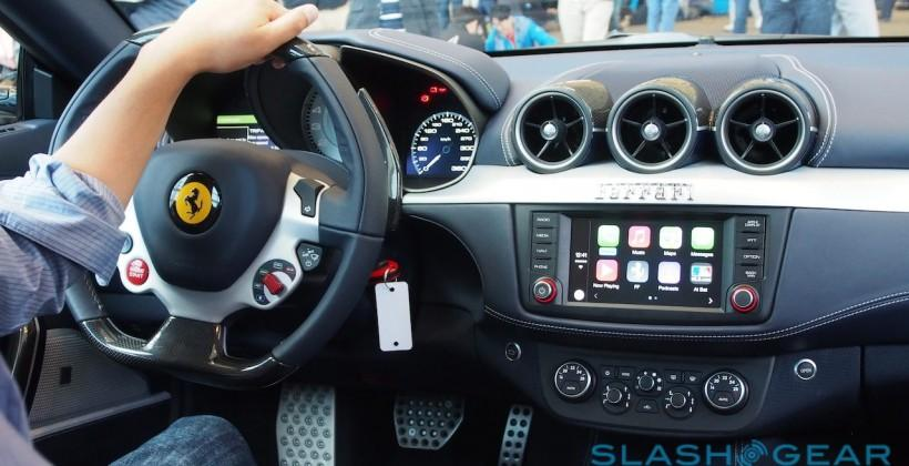 Ferrari FF CarPlay hands-on plus Pioneer's Apple upgrade