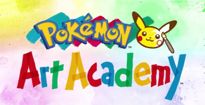 Pokemon Art Academy trailer details 3DS release