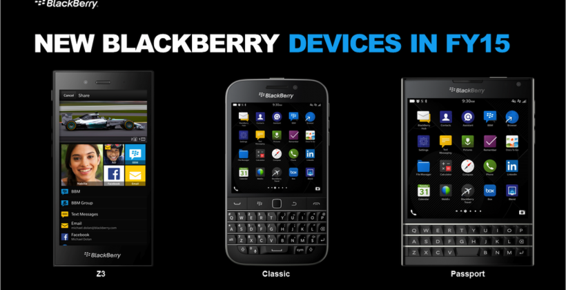This is BlackBerry Passport (and yes, it really is that shape)
