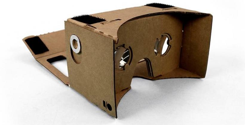 Download Google's strange DIY #cardboard experiment now