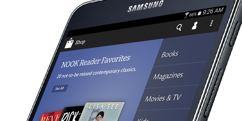 Galaxy Tab 4 Nook ties Samsung to Barnes & Noble