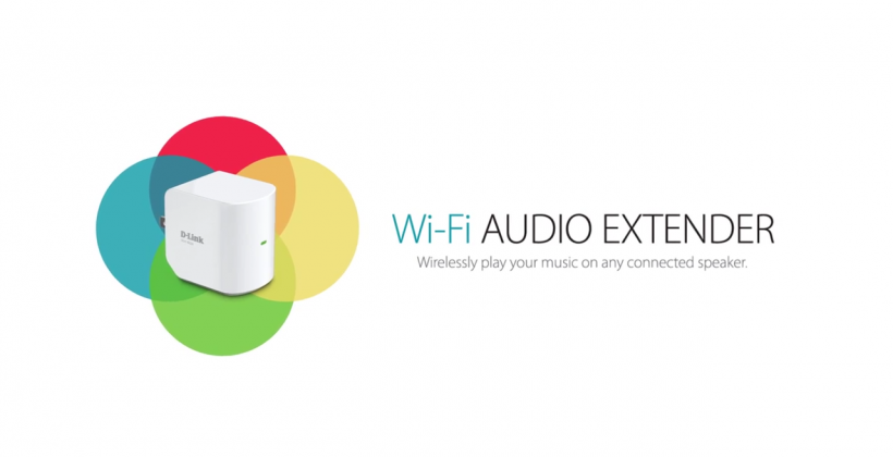 D-Link WiFi Audio Extender streams music, boosts WiFi