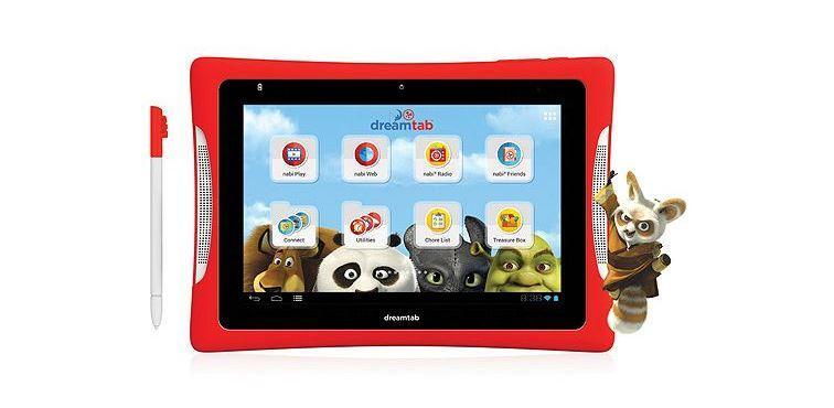 DreamTab 8 tablet for kids packs Tegra 4