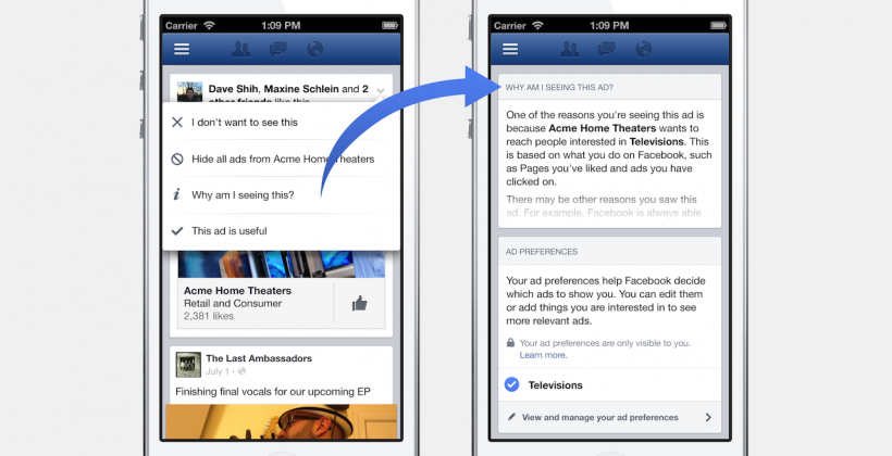 You hate Facebook ads: Now you can change them