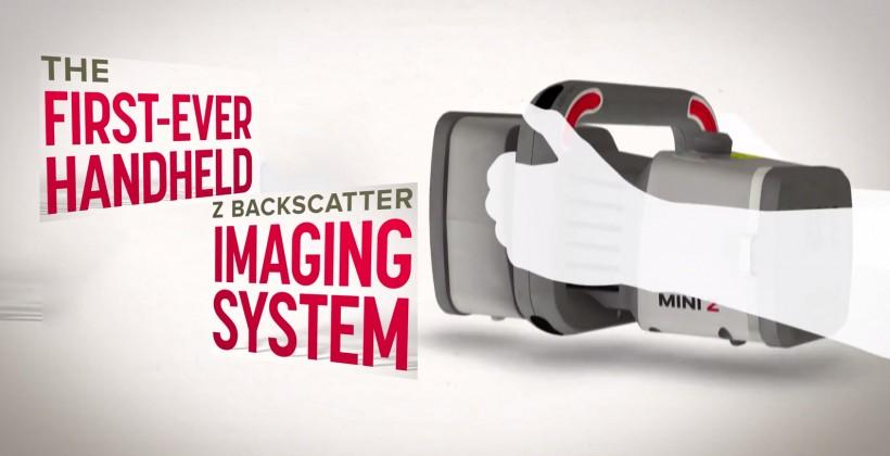 Airport security gets handheld with Z Backscatter gun