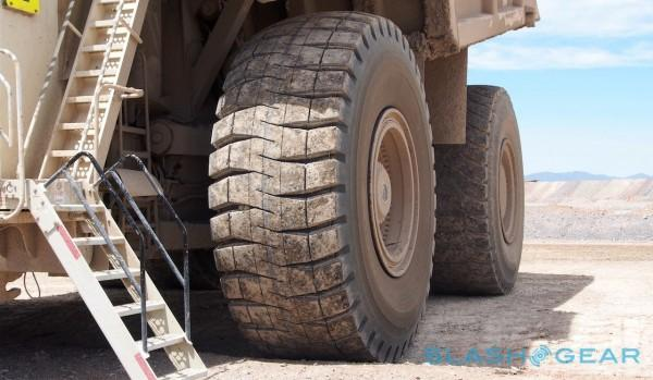 The 4 5m Monster Trucks Running Gold Mines Slashgear