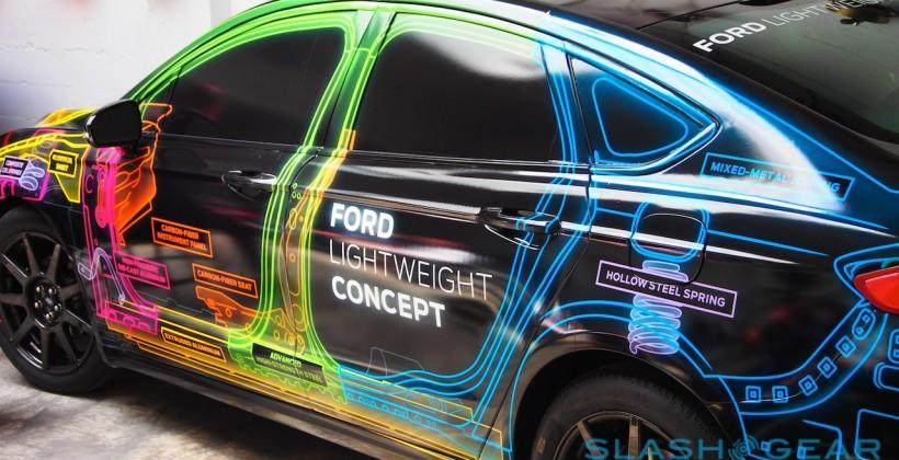 Ford Lightweight Concept Car eyes-on: High-tech, Low-weight