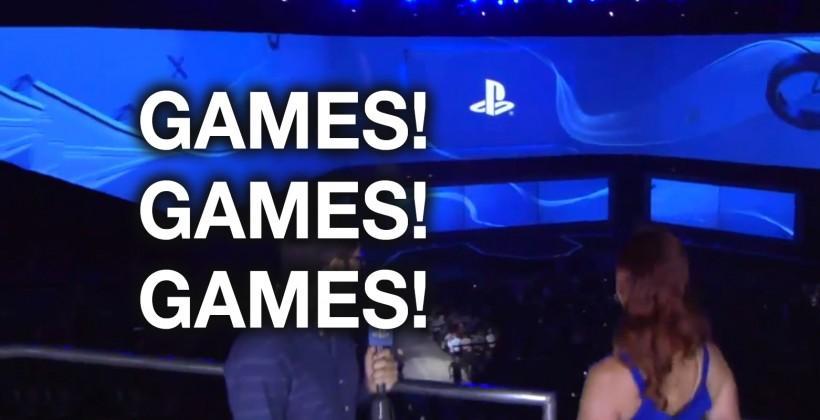 PlayStation 4 E3 2014 game trailers rundown