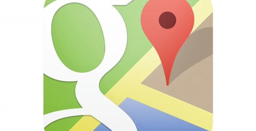 The map is not the territory: Fluid borders in Google Maps