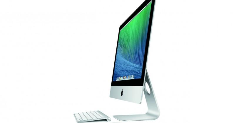New 21.5-inch iMac targets entry-level