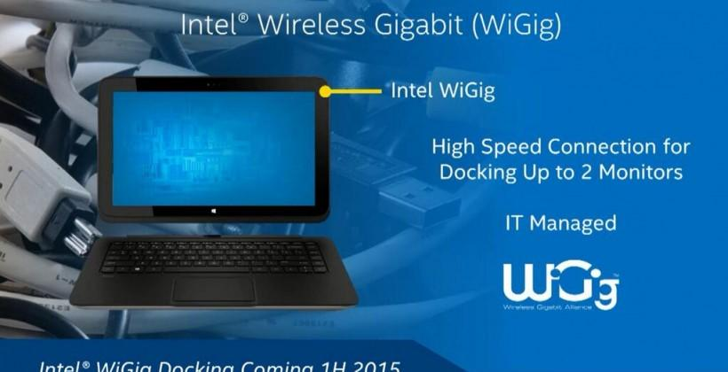 Intel WiGig Docking Station in 2015 as cable cut gets serious