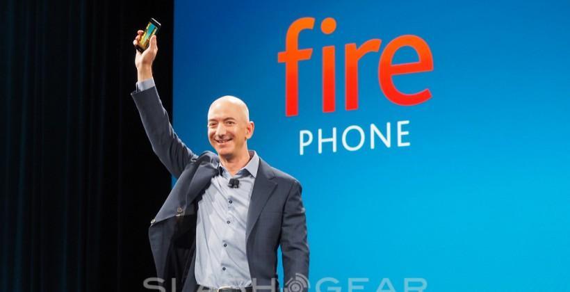 Jeff Bezos: No knee-jerk on Amazon phone if sales stumble