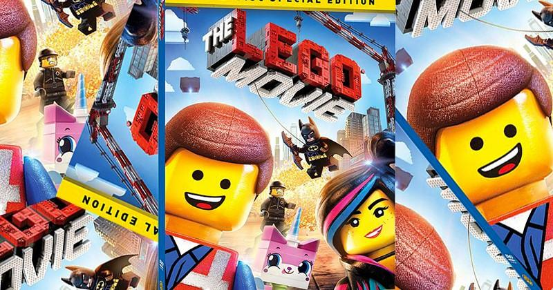The LEGO Movie Blu-ray and DVD release today