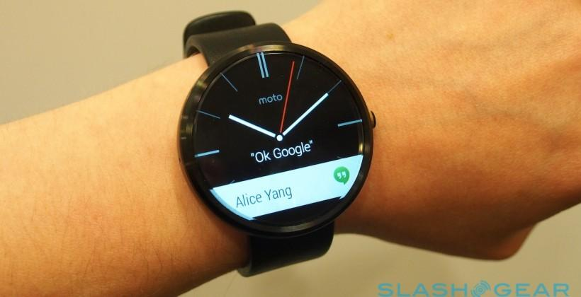 MOTO 360 hands-on: Android Wear on a concept made real